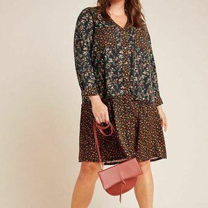 Maeve by Anthropologie Marlie Button-Front Tunic